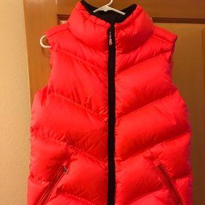 Bogner bright coral pink vest!